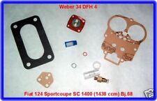 Weber 34 DFH 4,Vergaser,Rep.Kit,Fiat 124 Sport Coupe,SC
