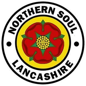 LANCASHIRE - NORTHERN SOUL - FUN NOVELTY CAR TAX DISC HOLDER - BRAND NEW / GIFTS