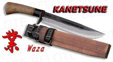 Kanetsune Seki WAZA Damascus Knife w/ Sheath KB-116 NEW