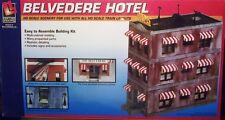 HO GAUGE-LIFE-LIKE-433-1339-MODEL RAILROAD BUILDING KITS-BELVEDERE HOTEL KIT