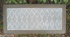 "Diamond bench top mold 3/16""ths abs plastic concrete mould"