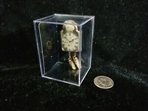1:12 Dollhouse Miniature~Lovely Reutter German Porcelain~English Rose Clock  NIB