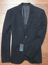 Armani Exchange A|X $230 Men's Black Stretch Mid-weight Blazer Sport Coat 40