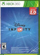 *Microsoft Xbox 360 Disney Infinity 2.0 Case, Artwork, & Game  👾