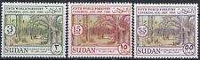 Sudan 1960 Sg-158-60 Forestry Congress Complete Set of 3 Mh - Us Seller