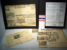 #789 - FROM OCCUPIED JAPAN, 1946-1947 - STARS/STRIPES  PAPERS AND NEWS CLIPPINGS