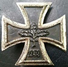 ✚7166✚ German Iron Cross First Class medal post WW2 1957 pattern MAGNETIC ST&L