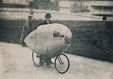 Bicyclette c. 1910 - Le Vélo-Torpille de M. Bunau-Varilla Vélodrome d'Hiver  - 3