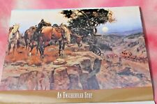 Art of the Wild West Illustrated 12 month Calendar, 2005 Free Shipping!