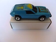 1985 Matchbox Super G.T. Blue with Yellow Flames