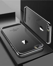 Silikon Hülle für iPhone 5 5s SE Ultra Slim Case Transparent  + Schutz Glas