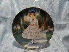 "J - Shirley Temple ""Littlest Rebel"" Collectors Plate"