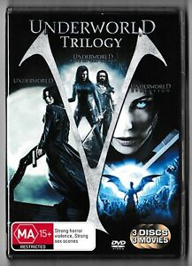 Underworld Trilogy - DVD / Kate Beckinsale / 3 Movies