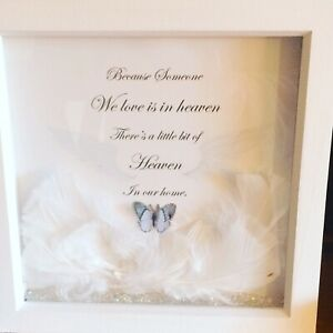 Someone In Heaven Box Frame Picture