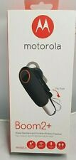 Motorola Boom 2+ Wireless Bluetooth Headset Water Resistant 9 Hours of Talk Time