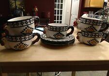 CBK  Ltd. Vintage Soup Mug Bowls Plates Chicken 1998