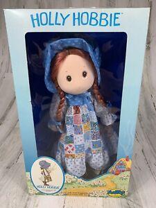 "RARE VINTAGE 1974 AmToy Holly Hobbie 15"" Soft Doll w/ Removable Dress FREE SHIP"