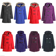 Hip Length Wool Outdoor Plus Size Coats & Jackets for Women