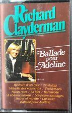 RICHARD CLAYDERMAN - BALLADE POUR ADELINE - CASSETTE