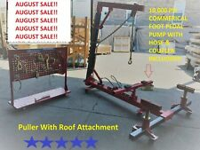 Portable Auto Body Frame Puller Straightener roof free clamps