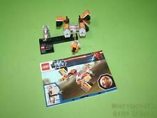 Part Of Lego Set 9675 Sebulba's Podracer & Tatooine *No Planet* With Minifigure