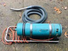 New listing Vintage Doyle Vacuum Canister Model 20 Turquoise Gas Station Vacuum