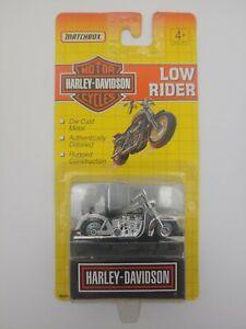 Matchbox Harley Davidson Black/Silver Low Rider Motorcycle #76245