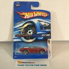 '69 Camaro #21 * Orange * 2006 Hot Wheels * WG14