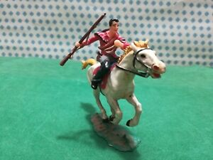 Cowboy IN Horse Old Wilde West - Elastolin 70 MM West Germany)
