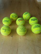 20 gebrauchte Tennisbälle