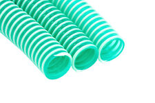 """(2,00€/m) 25mm (1"""") PVC Spiralschlauch Saugschlauch Grün Teich Abwasser TOP"""