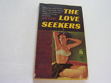 THE LOVE SEEKERS  1950   JAY CARR   SEXY EROTIC VINTAGE COVER ART  VERY FINE-