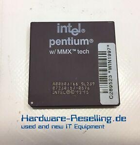 Intel Pentium Prozessor MMX SL27K 166MHz 66MHz