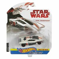 *HTF* STAR WARS 1:64 HOT WHEELS CARSHIPS REBEL SNOWSPEEDER NEW MINT IN PACKAGE!