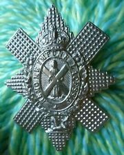 Royal Highlanders Black Watch Regimen Cap Badge KC WM 2 Lugs