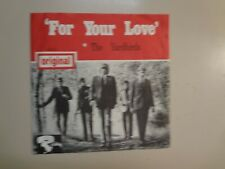 "YARDBIRDS: (w/Eric Clapton)For Your Love-France 7"" 65 Riviera Orig.w/Holland PSL"