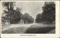 Charlestown NH Main Street c1910 Postcard