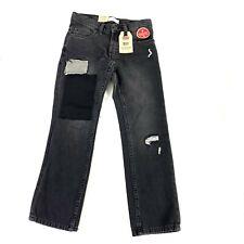 NWT Levi's 511 Slim boys jeans Sz 8 reg adjustable waist vertical stretch gray