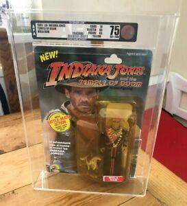 Indiana Jones and the Temple of Doom Mola Ram ROTLA Carded 5 Back AFA