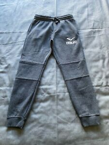 Everlast Activewear Dark Grey Tracksuit Pants Size 10