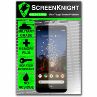 ScreenKnight Google Pixel 3A SCREEN PROTECTOR - Military Shield