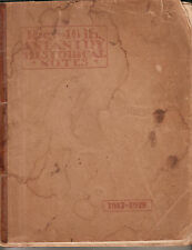 AEF WWI book The 346th Infantry Historical Notes/Pvt Burnett Thomas Rushville NY