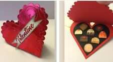 Handmade Valentine Card ~ Red Foil Heart Candy Box made w/ Stampin Up & other pr