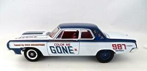 """1964 Dodge 330 Superstock (1:18) RARE LOOSE """"Color Me Gone II"""" Diecast  NO BOX"""