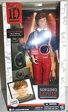 One Direction 1D Singing Louis Doll Sings Song Clip One Thing Collectors Doll