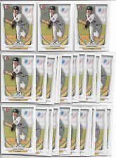 2014 Bowman Draft Josh Hader (25) Card Paper Lot Brewers Astros Prospect