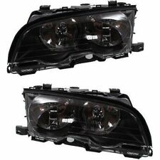 Halogen Headlight Set For 2001 BMW 330Ci Left & Right w/ Bulb(s) Pair