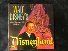 Vintage 1965 Walt Disney's pictorial souvenir book of Disneyland