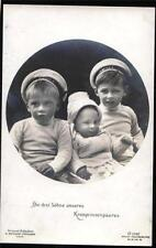 Germany Royal Figure-Children Collectable Postcards