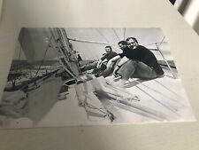 ERIC TABARLY   -  Photo de presse - Format 18x24cm